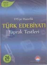 LYS'ye Hazırlık Türk Edebiyatı Yaprak Tesleri