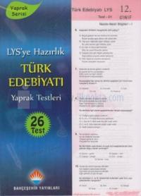 LYS'ye Hazırlık Türk Edebiyatı Yaprak Testleri 12. Sınıf