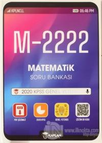 M - 2222 Matematik Soru Bankası Kolektif