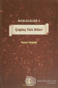 Makaleler 3 - Çağdaş Türk Dilleri