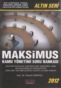 Maksimus Kamu Yönetimi Soru Bankası 2012