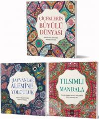 Mandala Büyükler İçin Boyama Seti (3 Kitap Takım)
