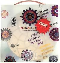 Mandalakid Çocuklar İçin Ahşap Mandala Boyama Seti