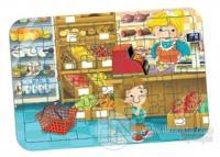 Market Yapboz (42 Parça)