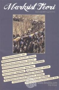 Marksist Teori Dergisi Sayı: 4