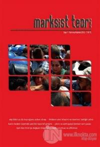 Marksist Teori Dergisi Sayı: 7