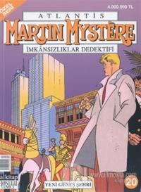 Martin Mystere İmkansızlıklar Dedektifi Özel Seri Sayı: 20 Yeni Güneş Şehri