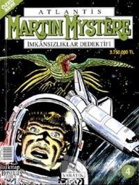 Martin Mystere İmkansızlıklar Dedektifi Sayı: 4 Yaratık