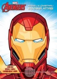 Marvel Avengers Maskeli ve Çıkartmalı Boyama Kitabı %18 indirimli Kole