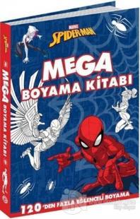 Marvel Spider-Man Mega Boyama Kitabı