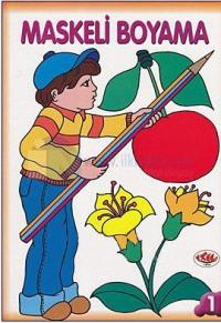 Maskeli Boyama - 4 Kitap Takım