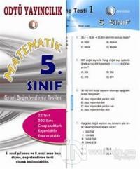 Matematik 5. Sınıf Genel Değerlendirme Testleri