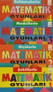 Matematik Oyunları - 4 Kitap Takım (Kutulu)