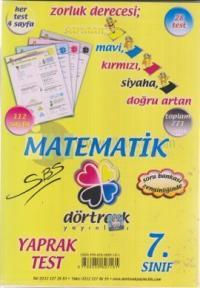 Dörtrenk 7. Sınıf Matematik Y.T.