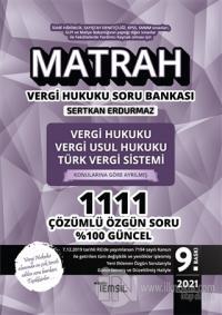 Matrah Soru Bankası Vergi Hukuku Vergi Usul Hukuku Türk Vergi Sistemi