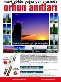 Mavi Gök ile Yağız Arasında Orhun Anıtları (20 Poster)