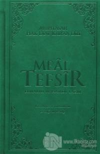 Meal Tefsir - Muhtasar Hak Dini Kur'an Dili (Yeşil Renk) (Ciltli)