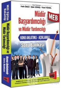 MEB Müdür Başyardımcılığı ve Müdür Yardımcılığı Hazırlık Kitabı