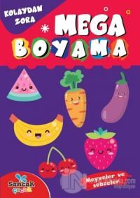 Mega Boyama - Meyveler ve Sebzeler Fatıma Gülbahar Karaca