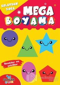 Mega Boyama - Renkler ve Şekiller Fatıma Gülbahar Karaca