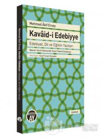 Mehmed Akif Ersoy Kavaid-i Edebiyye