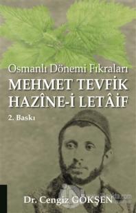 Mehmet Tevfik Hazine-i Letaif