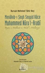 Menakıb-ı Şeyh Seyyid Hace Muhammed Nuru'l-Arabi