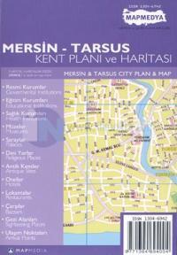 Mersin - Tarsus Kent Planı ve Haritası