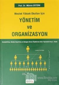 Meslek Yüksek Okulları İçin Yönetim Ve Organizasyon