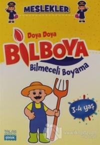 Meslekler - Doya Doya Bilboya Bilmeceli Boyama