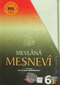 Mesnevi  Mevlana (3 Kitap Takım) (Ciltli)
