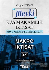 Mevki Makro İktisat (Kaymakamlık İktisat) 2020