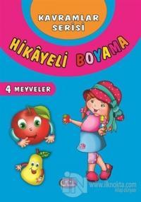Meyveler - Hikayeli Boyama 4