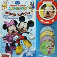 Mickey Mouse Club House: Müzik Kutulu Öykü Kitabı (Ciltli)