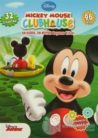 Mickey Mouse Clubhouse En Güzel, En Büyük Boyama Kitabı