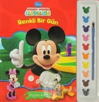Mickey Mouse Clubhouse Renkli Bir Gün - Boyama Kitabı