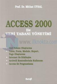 Microsoft Access 2000 ile Veri Tabanı Yönetimi