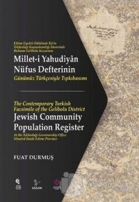 Millet-i Yahudiyan Nüfus Defterinin Günümüz Türkçesiyle Tıpkıbasımı Fu
