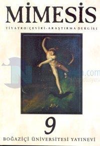 Mimesis Tiyatro / Çeviri Araştırma Dergisi Sayı: 9