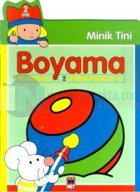 Minik Tini Boyama Kitabı 2 Yaşındaki Çocuklar İçin