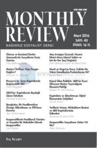 Monthly Review Sayı - 40