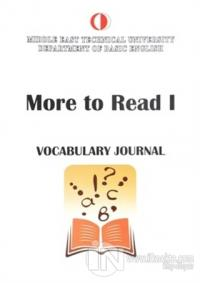 More To Read 1 Vocabulary Journal