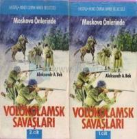 Moskova Önlerinde Volokolamsk Savaşları(2 Cilt Takım)