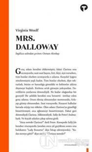 Mrs. Dalloway Virginia Woolf