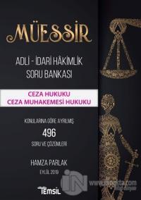 Müessir Adli-İdari Hakimlik Soru Bankası - Ceza Hukuku Ceza Muhakemesi Hukuku