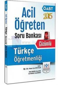 Müfredat 2015 ÖABT Türkçe Öğretmenliği Acil Öğreten Soru Bankası
