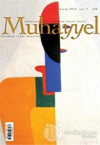 Muhayyel Edebiyat Dergisi Sayı: 7 Kasım 2018