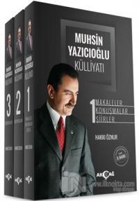 Muhsin Yazıcıoğlu Külliyatı (3 Cilt Takım - Ciltli) Hakkı Öznur