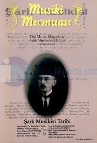 Musiki Mecmuası Sayı:471The Music MagazineAylık Müzikoloji Dergisiİstanbul 1948Şark Musikisi