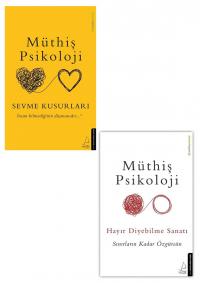 Müthiş Psikoloji 2 Kitap Takım Müthiş Psikoloji